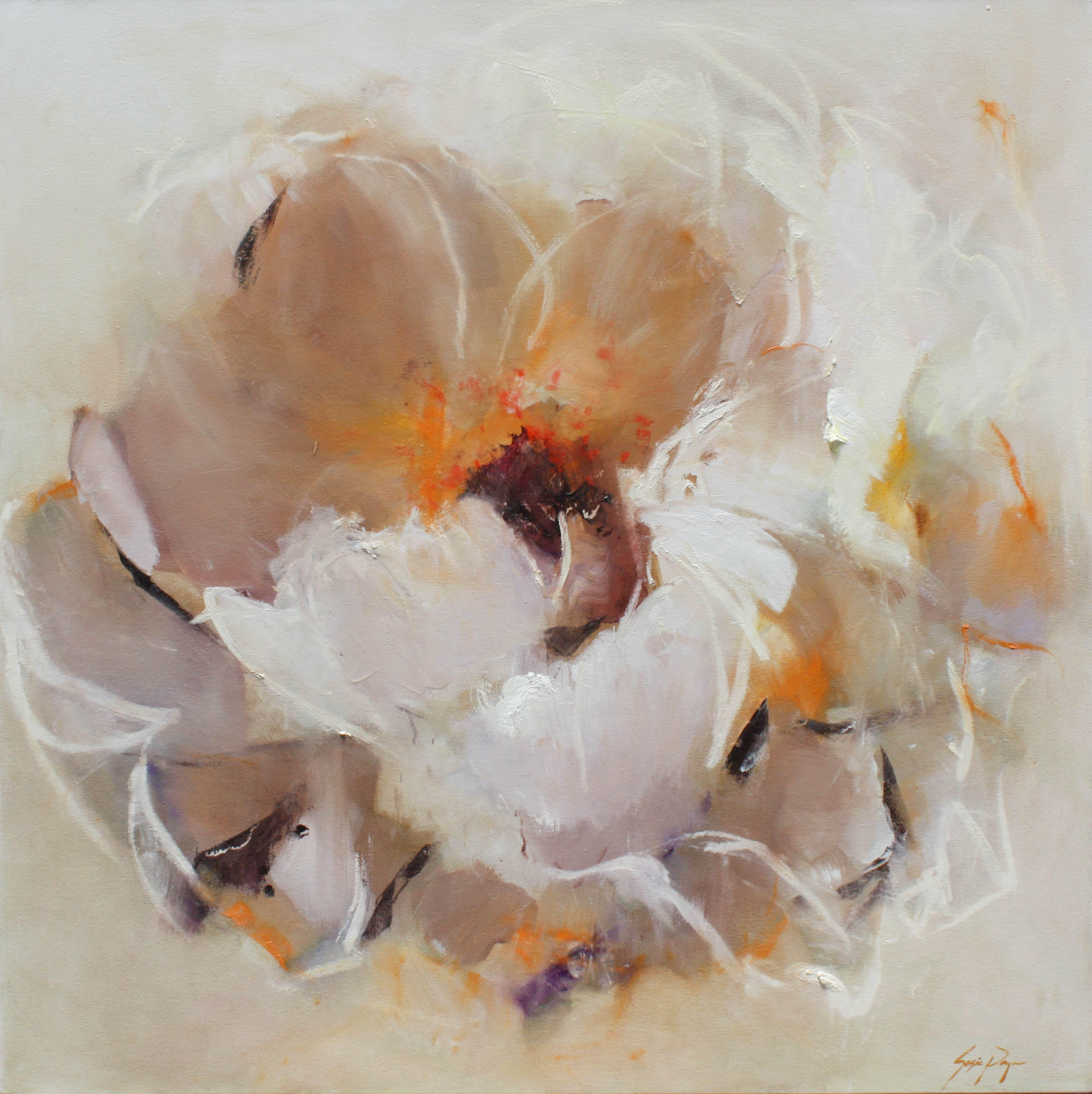 """48 x 48 oil painting by artist Susie Pryor titled """"Possibilities"""""""