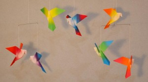 SOLD OUT Origami: Songbird Mobiles