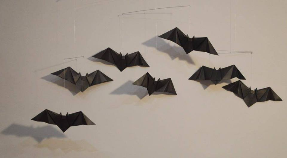 SOLD OUT Origami: Bats/Owls Mobile