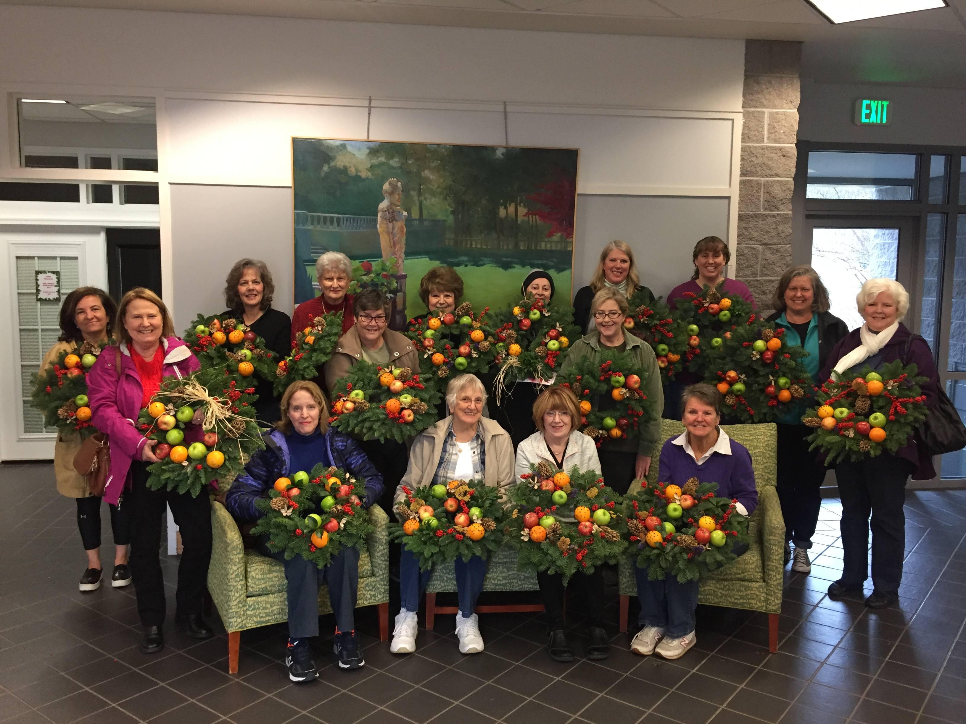SOLD OUT Della Robbia Wreath Workshop
