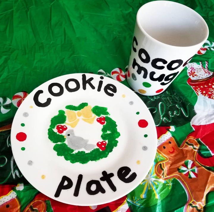 NatureKid Holiday Kit: Cookie Plate & Cocoa Mug - Sold Out!