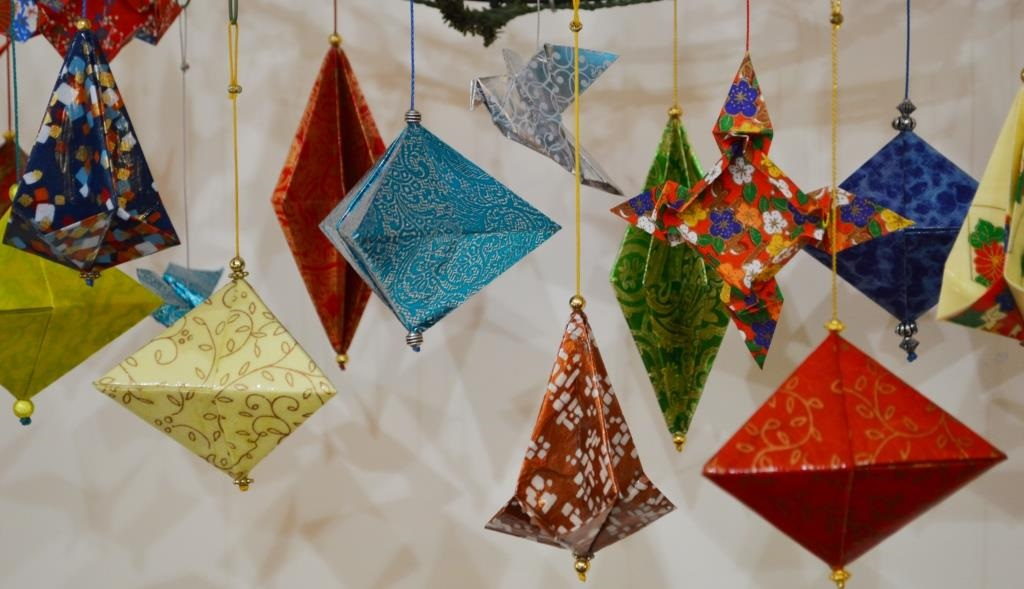 Origami: Holiday Ornaments