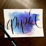 "Painted word ""Piper"""