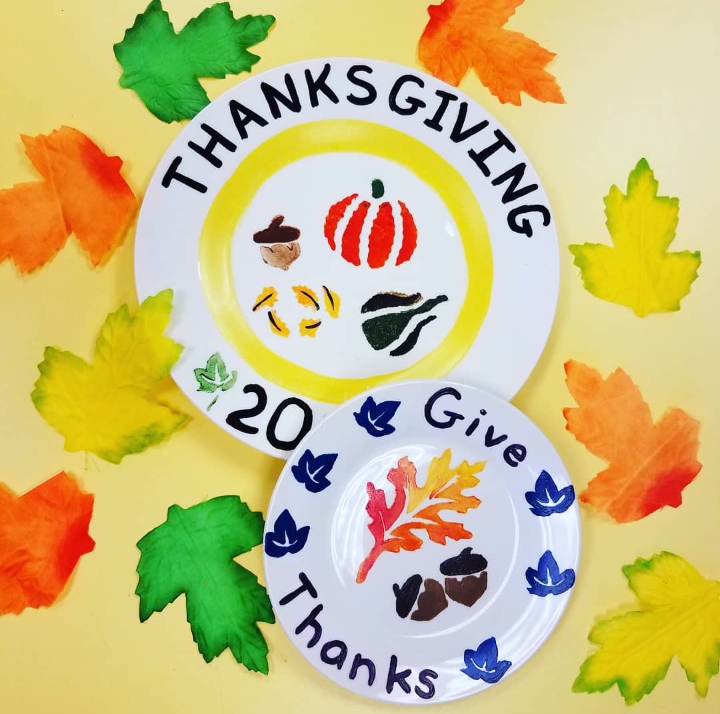 NatureKids To-Go Kit: Thanksgiving Plates - Sold Out!