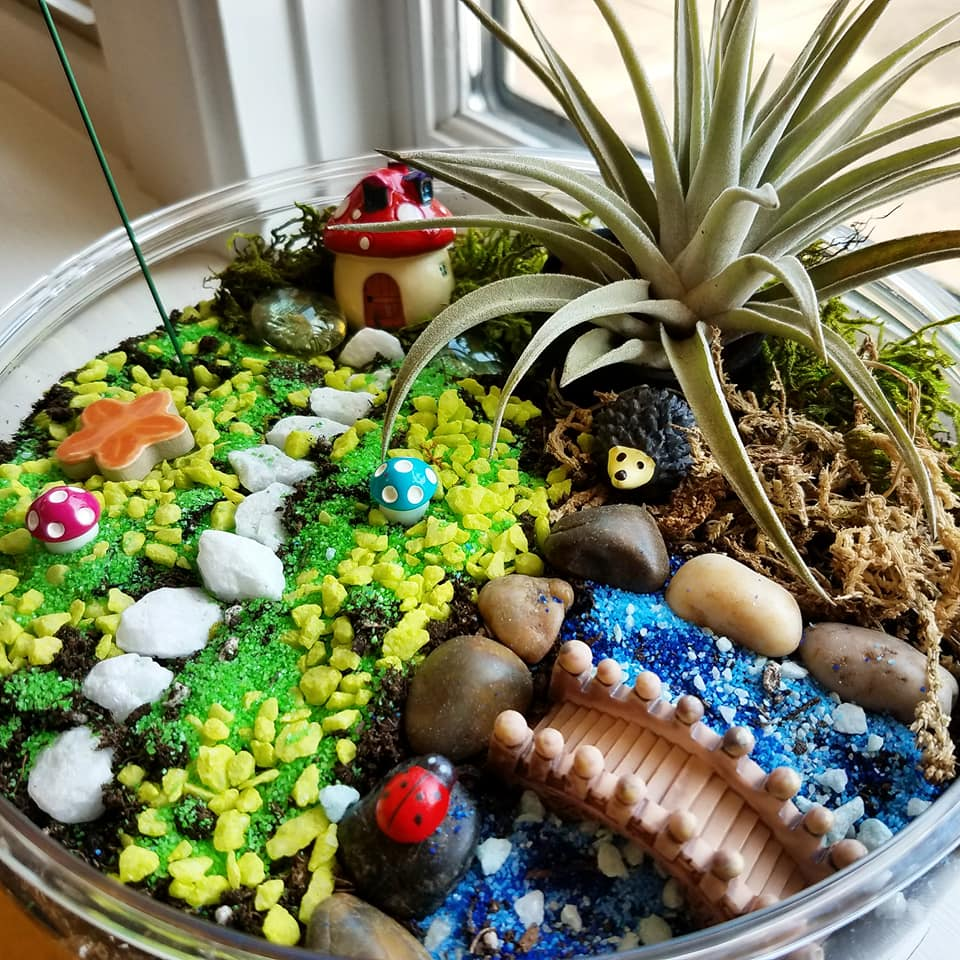 SOLD OUT- Fairy & Gnome Garden Homes