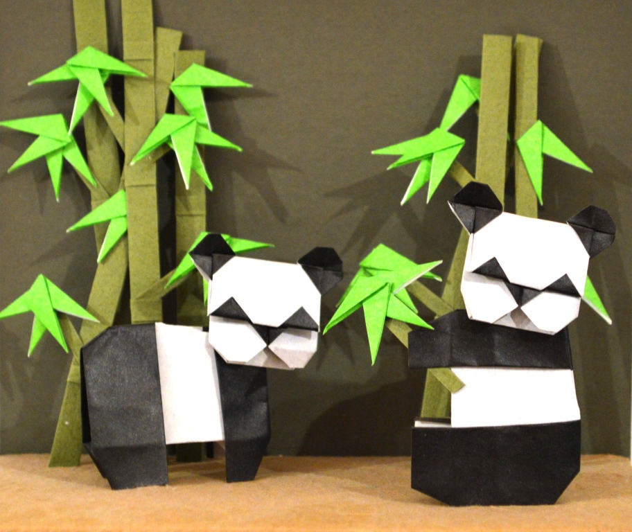 SOLD OUT Origami: Pandas