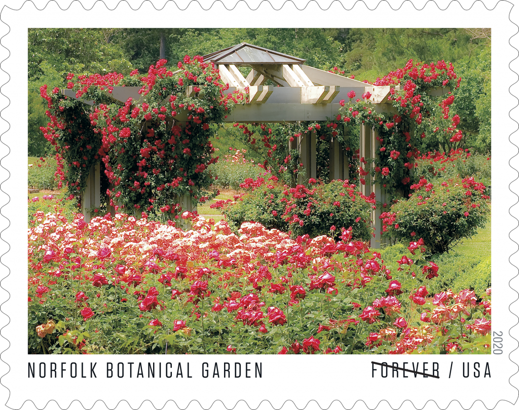 USPS American Gardens Forever Stamp